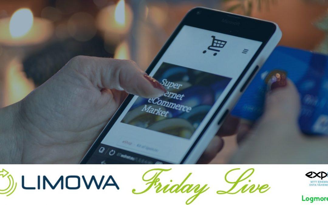 LIMOWA Friday Live -webinaari 8.5. klo 14:00 – 15:15 – Verkkokaupan tuotteiden saatavuuden maksimointi