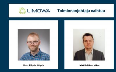 LIMOWA ry toiminnanjohtaja vaihtuu, kapulanvaihto on jo aloitettu